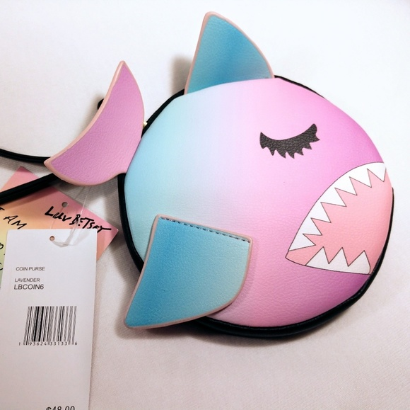 Betsey Johnson Handbags - Betsey Johnson Ombre Shark Wristlet